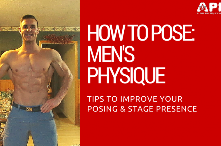 How To Pose: Men's Physique OPA W/ CBBF Athlete Tyler